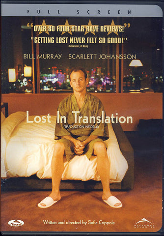 Lost in Translation (Fullscreen) (Bilingual) DVD Movie