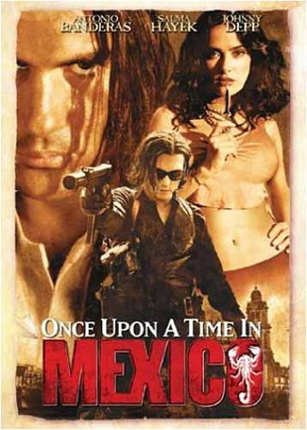 Once Upon a Time in Mexico DVD Movie
