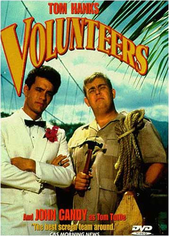 Volunteers (1985) DVD Movie