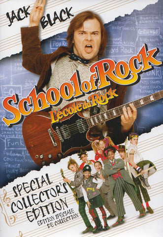 School of Rock (Bilingual) DVD Movie