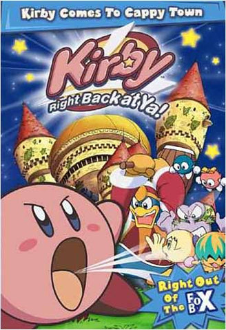 Kirby: Right Back at Ya - Kirby Comes to Cappytown - Vol.1 DVD Movie