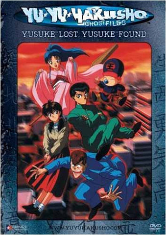 Yu Yu Hakusho Ghost files - Volume 1: Yusuke Lost, Yusuke Found (Unrated Version)(Japanimation) DVD Movie