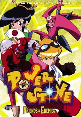 Power Stone - Volume 5: Friends and Enemies (Japanimation) DVD Movie