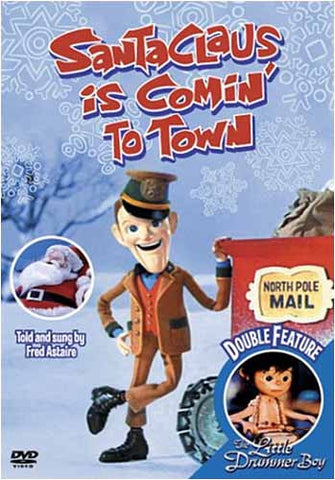 Santa Claus Is Comin' To Town/The Little Drummer Boy DVD Movie