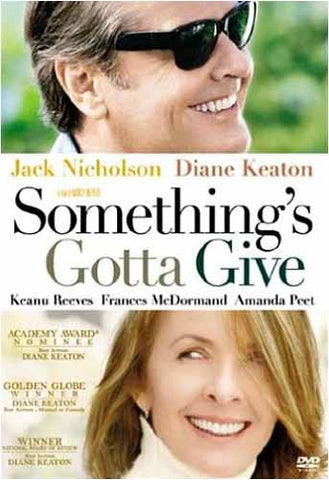 Something's Gotta Give DVD Movie