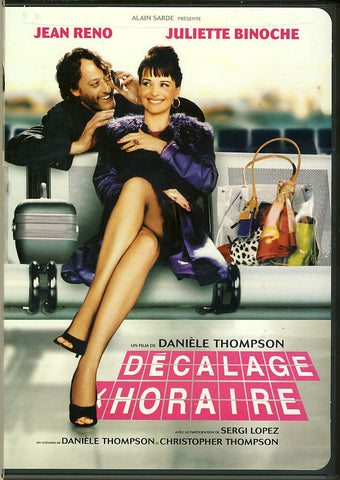 Decalage Horaire DVD Movie