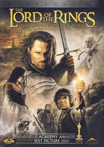 The Lord of the Rings - The Return of the King (Widescreen Edition) DVD Movie
