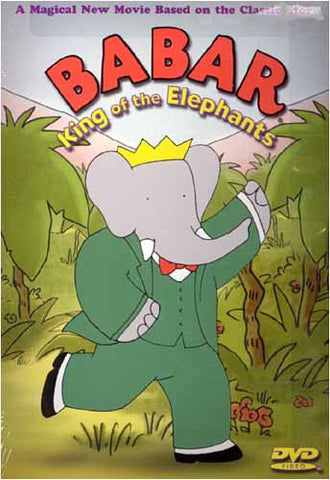 Babar - King Of The Elephants(Green Cover) DVD Movie
