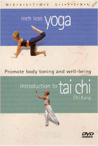 Healthy Living - Inch Loss Yoga / Introduction to Tai Chi Kung DVD Movie