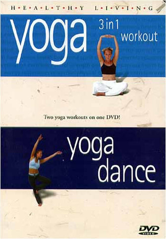 Healthy Living - Yoga 3 In 1 Workout / Yoga Dance DVD Movie