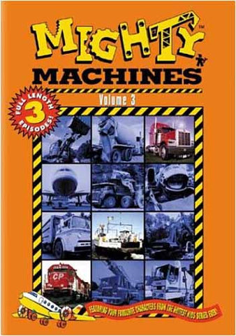 Mighty Machines Vol 3 DVD Movie
