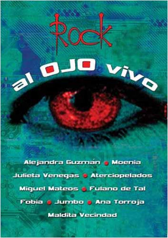 Rock Al Ojo Vivo DVD Movie