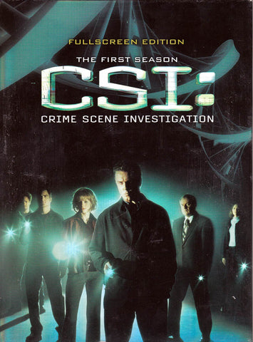 CSI - Crime Scene Investigation - The Complete First Season (1) (Boxset) DVD Movie