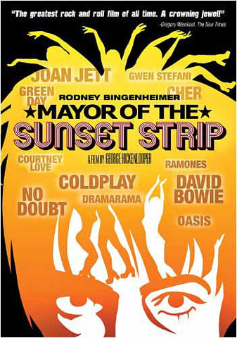 Mayor of the Sunset Strip DVD Movie