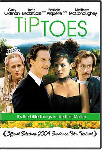 Tiptoes DVD Movie