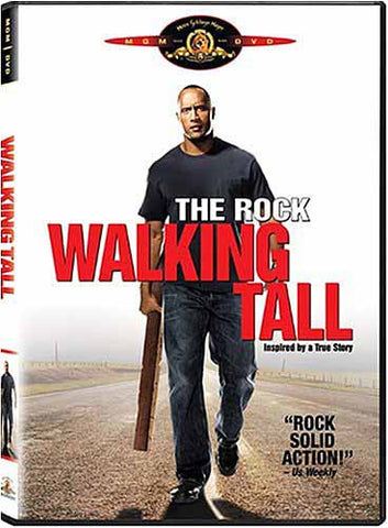 Walking Tall (The Rock) (Bilingual) DVD Movie