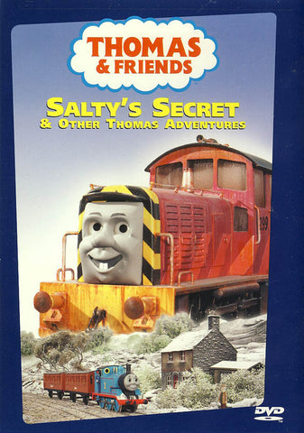Thomas and Friends - Salty's Secret DVD Movie