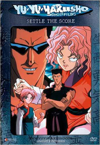 Yu Yu Hakusho Ghost files - Volume 15: Settle The Score (Uncut Version) DVD Movie