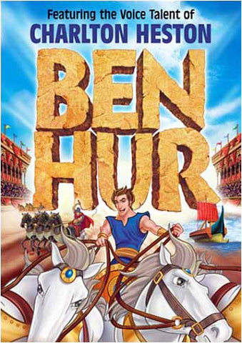 Ben Hur - A Tale of the Christ (Animated) DVD Movie