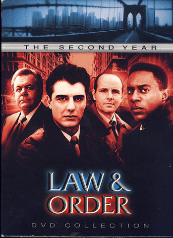 Law and Order - The Second Year (Boxset) DVD Movie