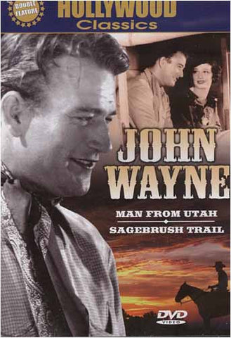 John Wayne - Man From Utah / Sagebrush Trail DVD Movie