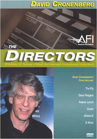 The Directors - David Cronenberg DVD Movie