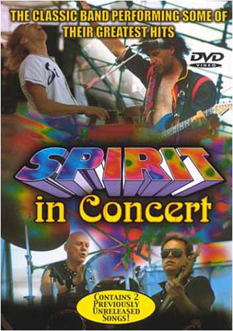 Spirit In Concert DVD Movie