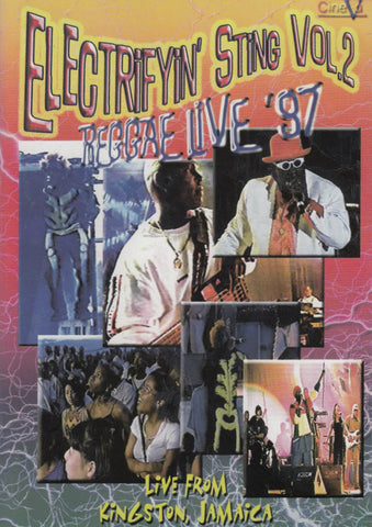 Electrifyin' Sting -Reggae Live '97, Vol. 2 DVD Movie