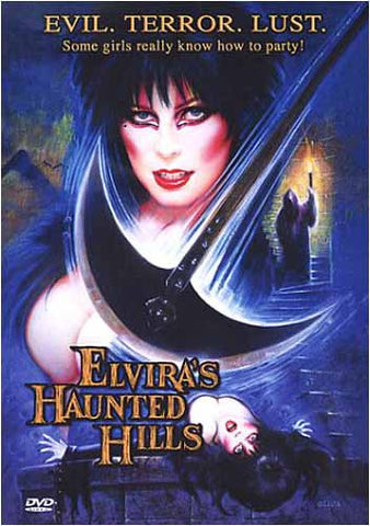Elvira's Haunted Hills DVD Movie