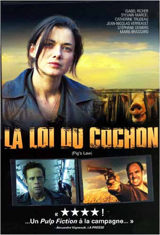 La Loi du Cochon/ Pig's Law DVD Movie