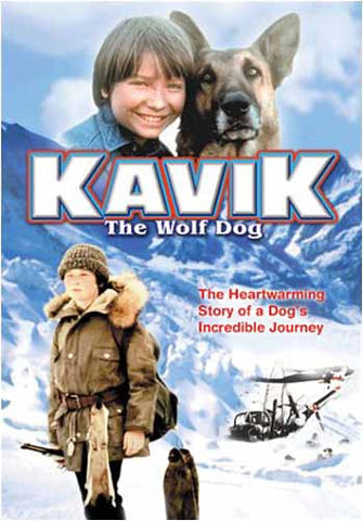 Kavik the Wolf Dog DVD Movie