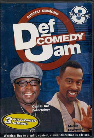 Def Comedy Jam - All Stars 8 DVD Movie