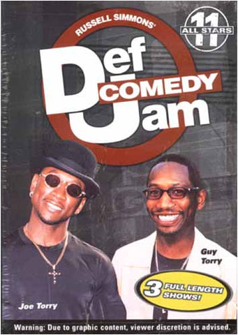 Def Comedy Jam - All Stars 11 DVD Movie