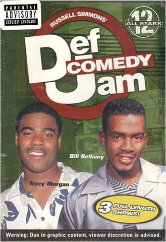Def Comedy Jam - All Stars 12 DVD Movie