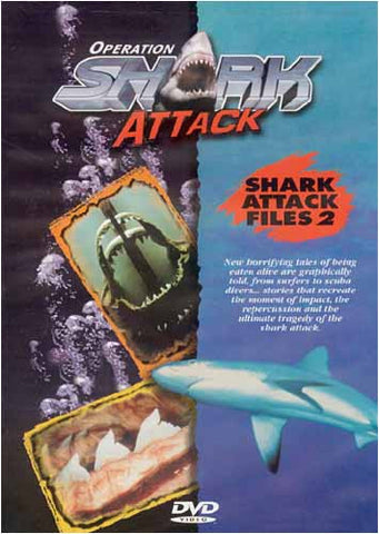 Operation Shark Attack - Legends of the Killer Sharks DVD Movie