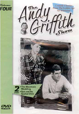 The Andy Griffith Show - The Mountain Wedding, Opie and the Spolied Child DVD Movie