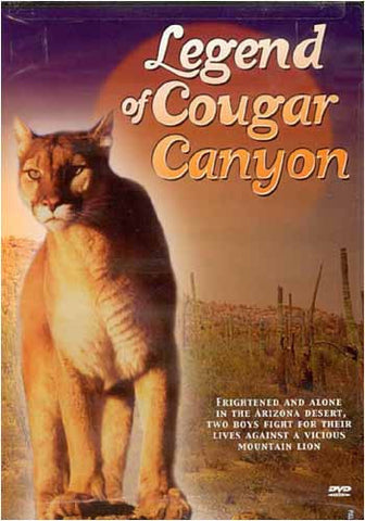 The Legend of Cougar Canyon DVD Movie