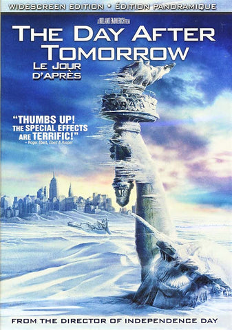 The Day After Tomorrow (Le jour D Apres)(Widescreen) (Bilingual) DVD Movie
