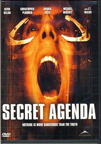 Secret Agenda A.K.A. Hidden Agenda (Iain Paterson) DVD Movie