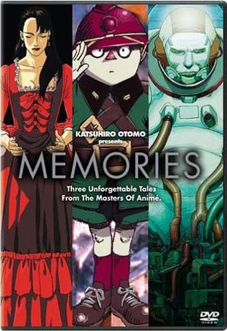 Memories (Katsuhiro Otomo Presents) DVD Movie