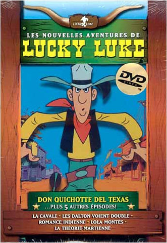 Les Nouvelles Aventures De Lucky Luke: Don Quichotte Del Texas - Plus 5 Episodes DVD Movie