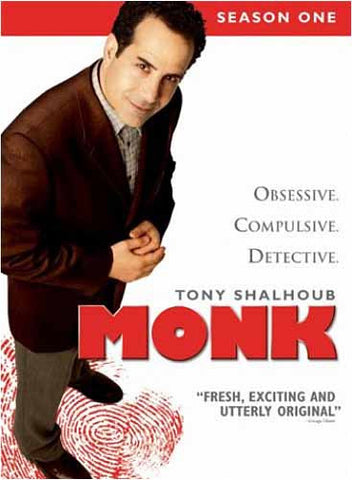 Monk - Season One (Boxset) DVD Movie