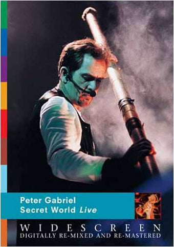Peter Gabriel - Secret World Live (Widescreen) DVD Movie