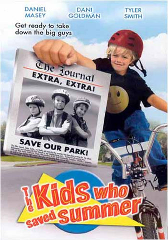 The Kids Who Saved Summer DVD Movie