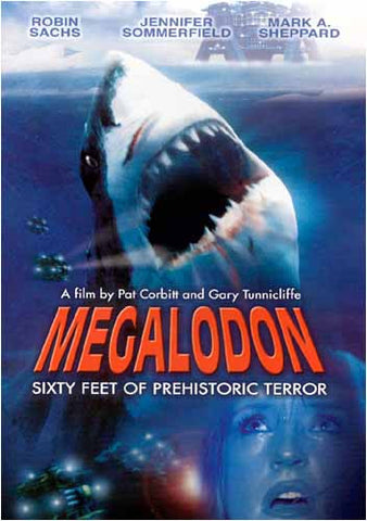 Megalodon DVD Movie