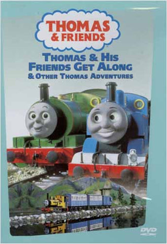 Thomas and Friends - Thomas and His Friends Get Along DVD Movie