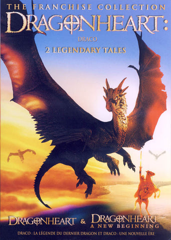 Dragonheart - 2 Legendary Tales (Bilingual) DVD Movie