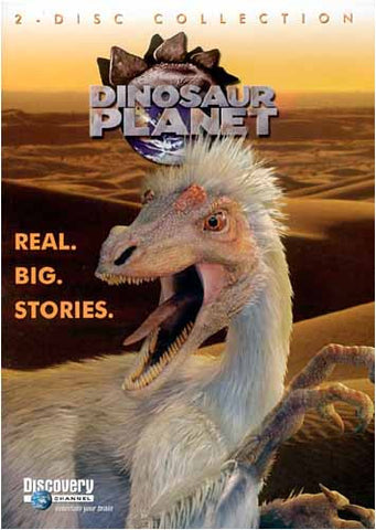 Discovery Channel - Dinosaur Planet - Real Big Stories (2 Disc Collection) DVD Movie