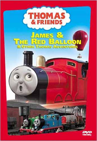 Thomas and Friends - James and the Red Balloon DVD Movie
