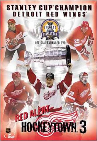 Red Alert - Hockeytown 3 - 2002 Stanley Cup Champion Detroit Red Wings DVD Movie